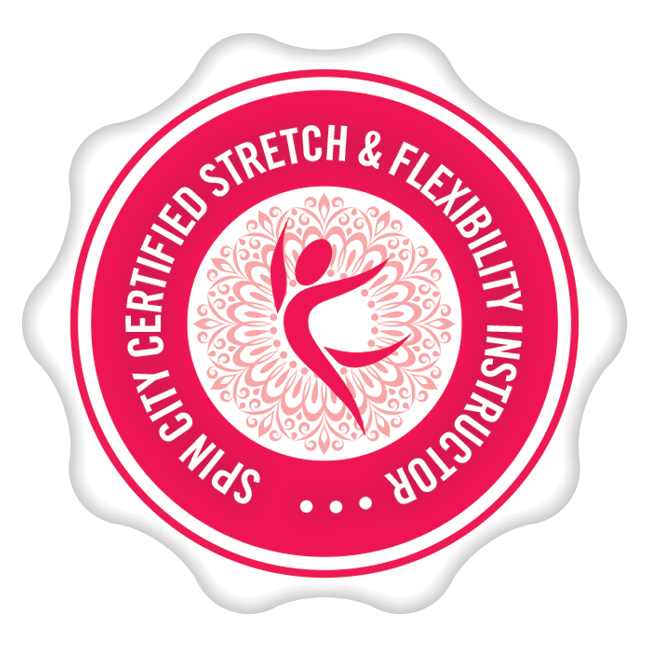 Spin city certified stretch & flexibility instructor